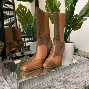 🧸 Mossimo Vintage Patchwork Boots